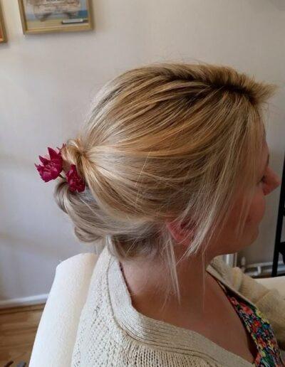 Mobile hairdressing covering Wimborne, Dorset